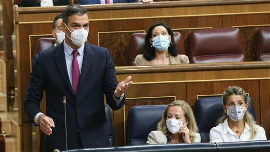 Pedro Sánchez insta ERC a seguir negociant l'ampliació del Prat