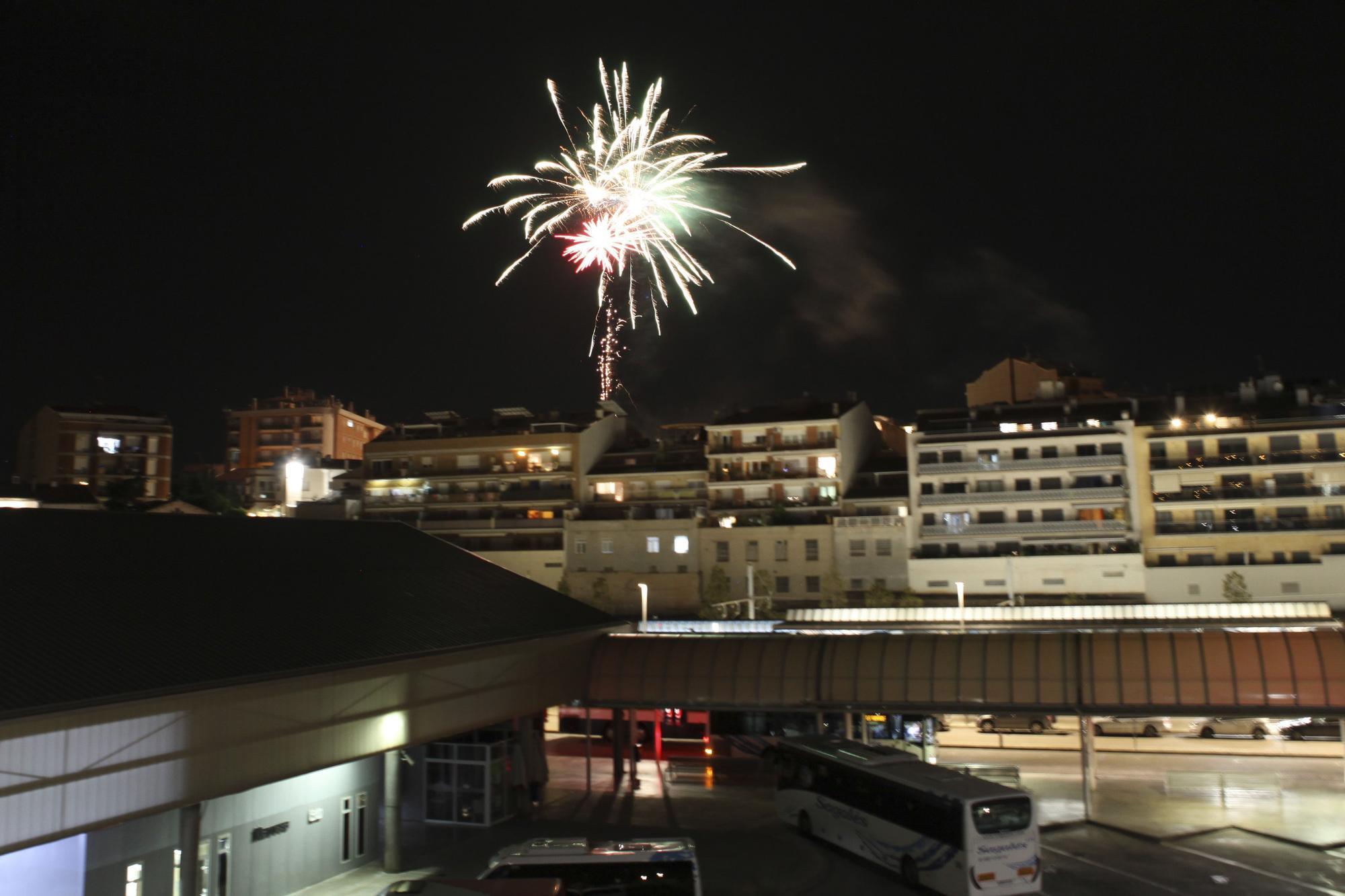 Les millors imatges del Castell de focs de la Festa Major de Manresa 2021