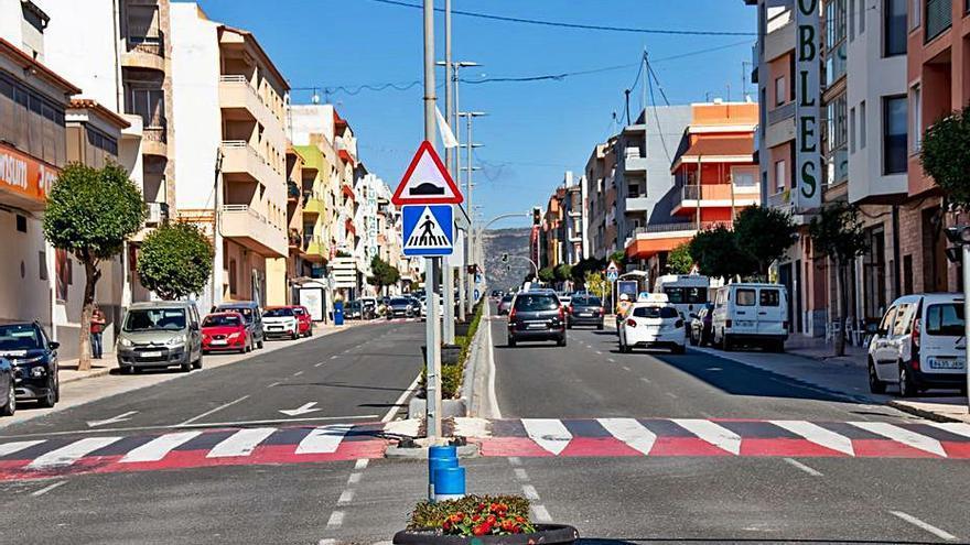 Teulada renovará conducciones y pavimento de la Avenida Mediterráneo