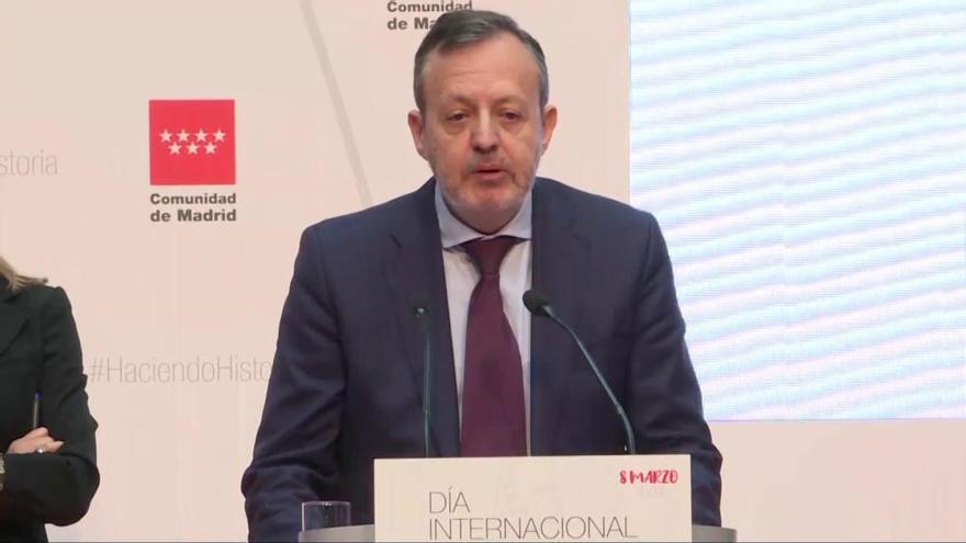 Dimite el consejero de Políticas Sociales de la Comunidad de Madrid