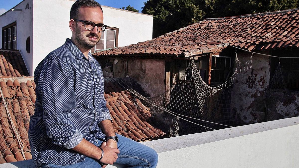 Javier Rivero, concejal de Participación Ciudadana del Ayuntamiento de Santa Cruz. | | MARÍA PISACA