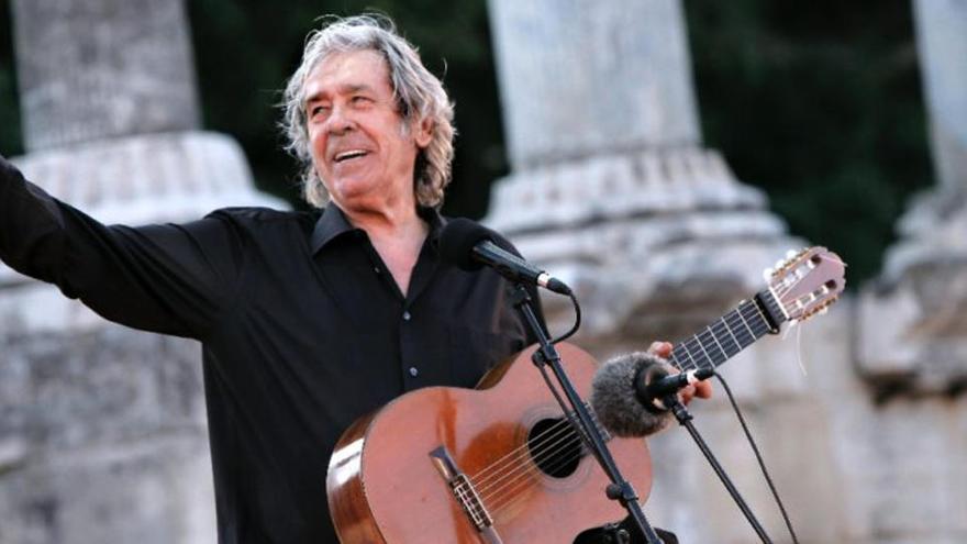 Paco Ibáñez actuarà al Palau de la Música el 17 de març per tancar la gira '50 anys de l'Olympia'