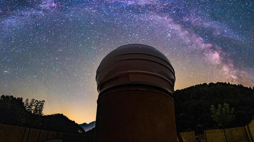 L'Observatori Astronòmic Albanyà comença la seva col·laboració amb la NASA