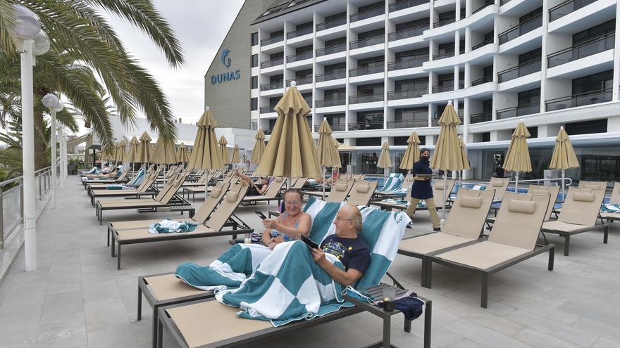 Las pernoctaciones hoteleras en España se desploman un 86,5% en febrero