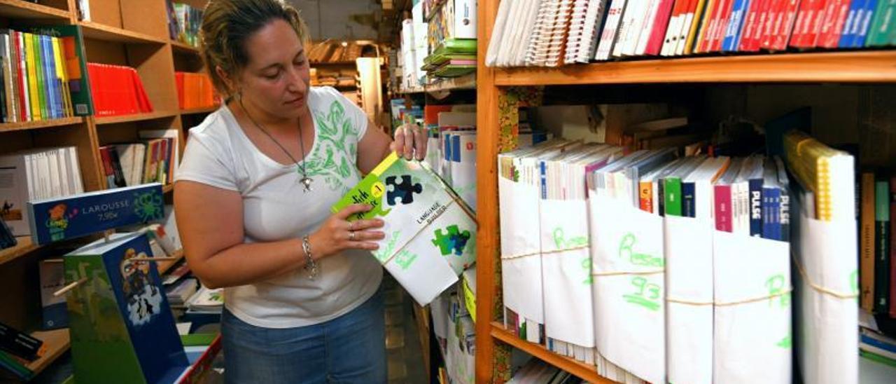 """Imagen de archivo de una librería con reservas ante la vuelta al """"cole""""."""