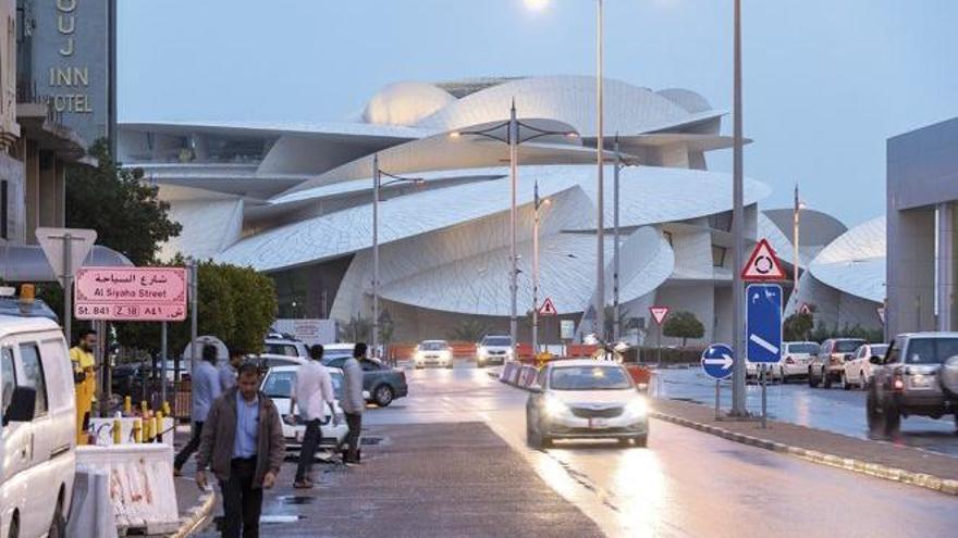 Museo Nacional de Qatar. La rosa del desierto