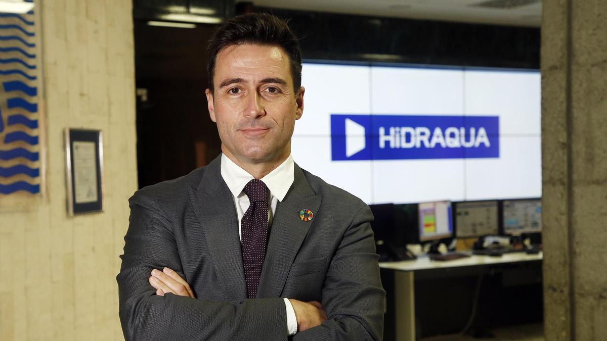 Paco Muñoz, gerente de Hidraqua