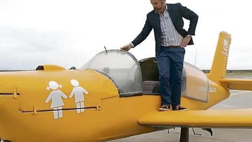 Flugzeug-Kampagne gegen Transsexuelle auf Mallorca