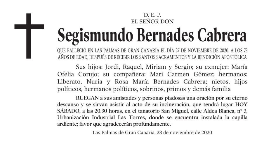 Segismundo Bernades Cabrera