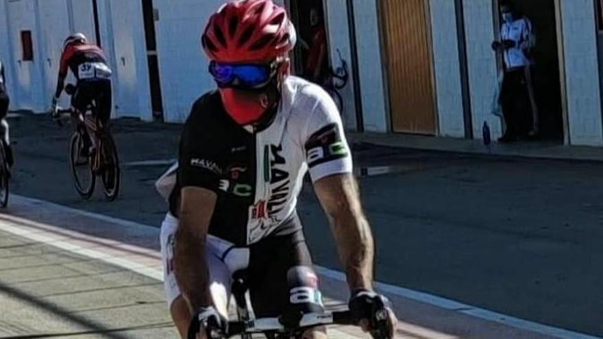 Anderson Prieto, pierde la medalla al sprint