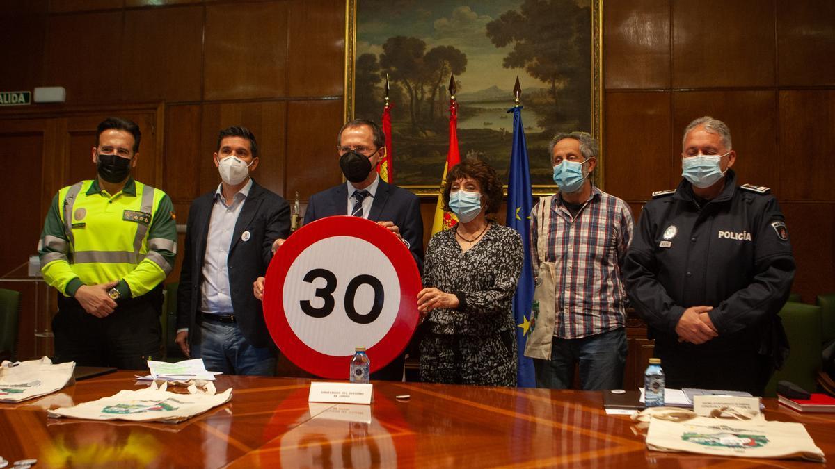 Presentación de las nuevas normas de tráfico en Zamora.