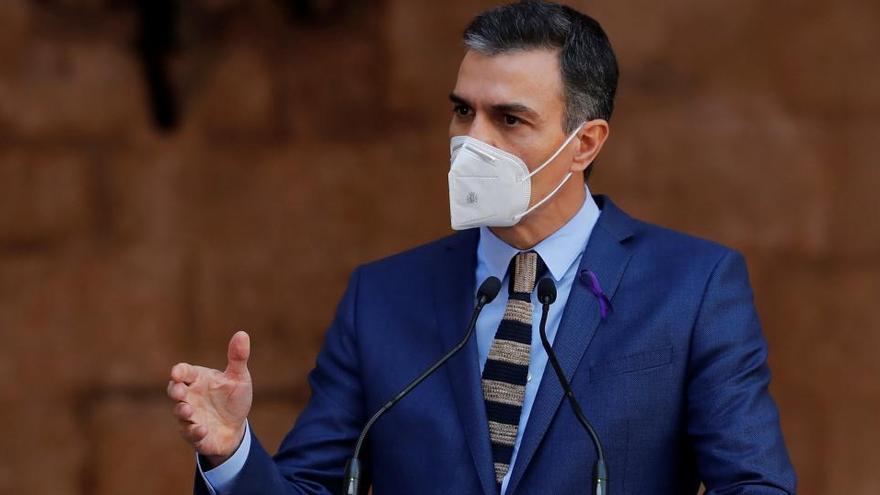 """Sánchez: """"Estamos a las puertas de neutralizar el virus"""""""
