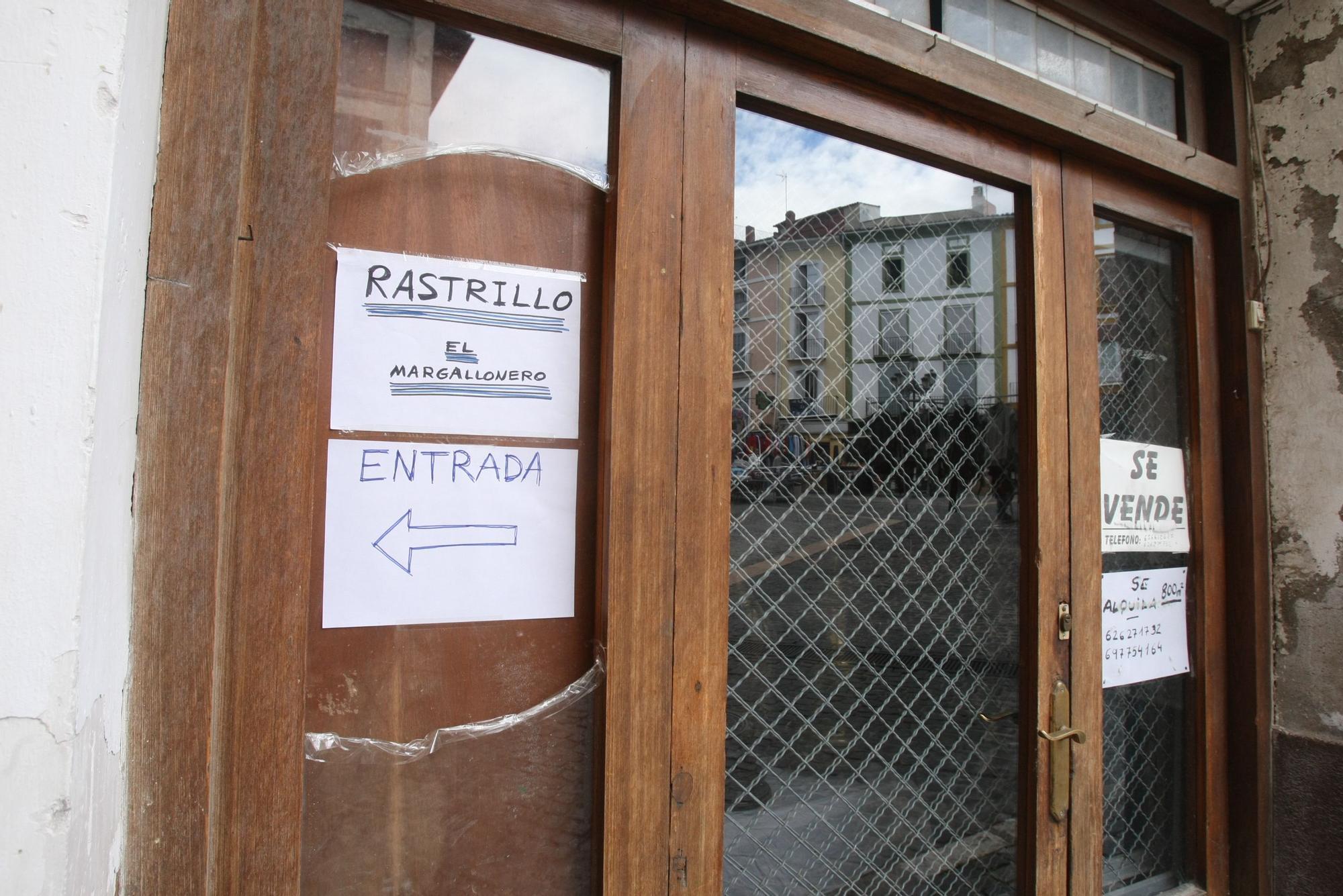 """La casa del """"Margallonero"""", un inmueble emblemático de Xàtiva en riesgo de derrumbe"""