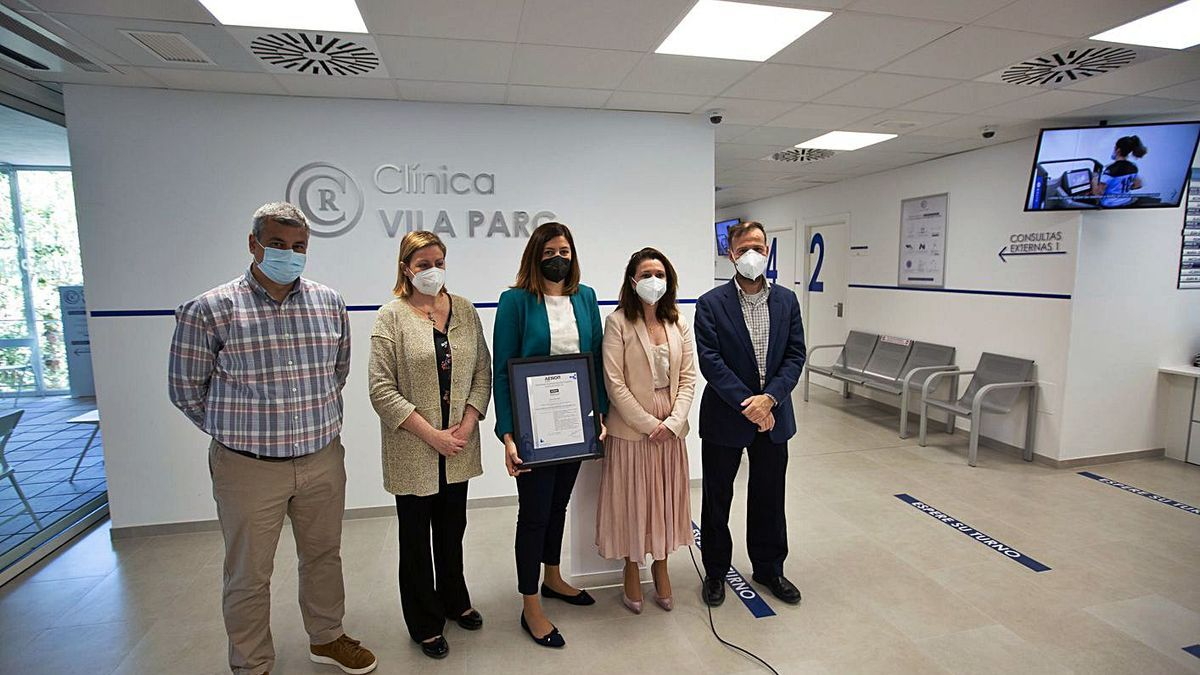 Ricardo García, Carolina Escandell, Rosa García, Soledad Seisdedos y David Medina.  |  VICENT MARÍ