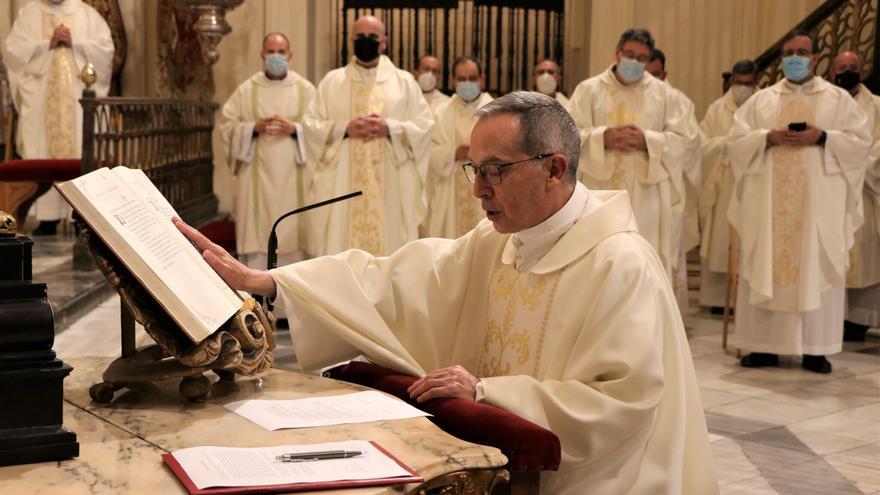El nuevo obispo de Zamora jura su fidelidad a la Iglesia
