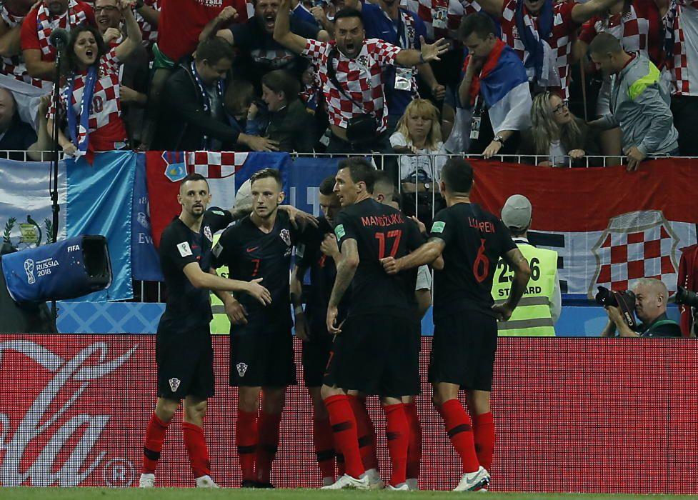 Mundial de Rusia: Croacia-Inglaterra