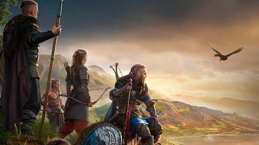 Assassin's Creed Valhalla: anuncio para TV en español protagonizado por Eivor