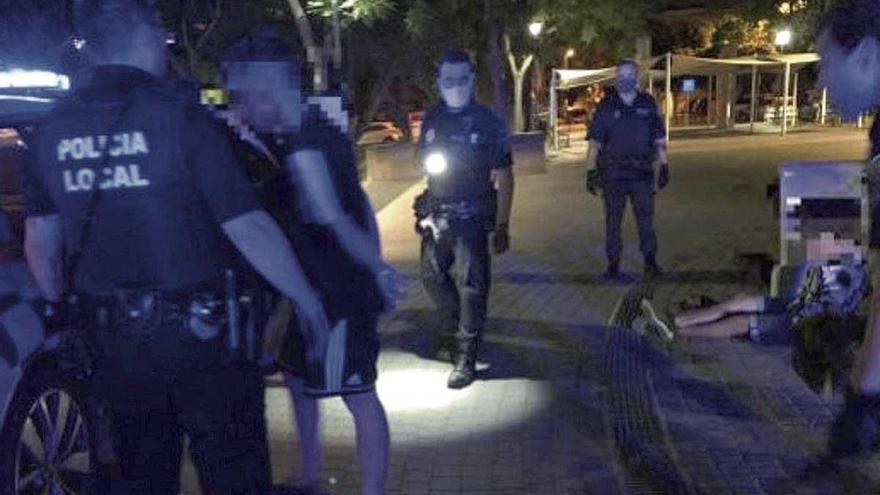 Violento atraco en Eivissa para robar un patín eléctrico