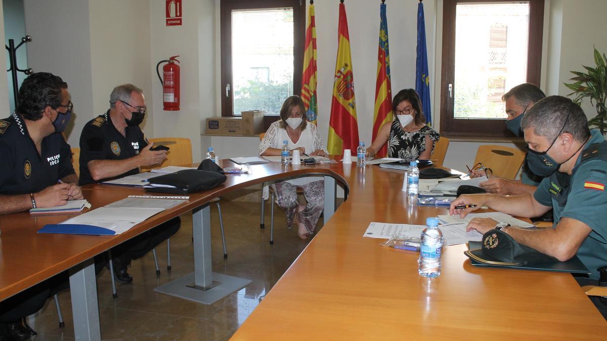Soledad Ten y Susana Marqués han copresidido este viernes la junta local de seguridad.