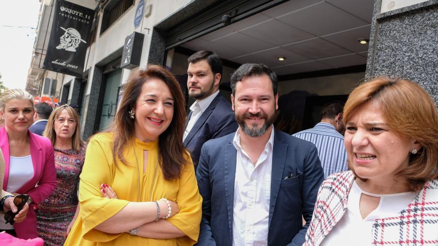 Fran Muñoz aspira a la presidencia del PP de Elda que Adela Pedrosa ostenta 14 años