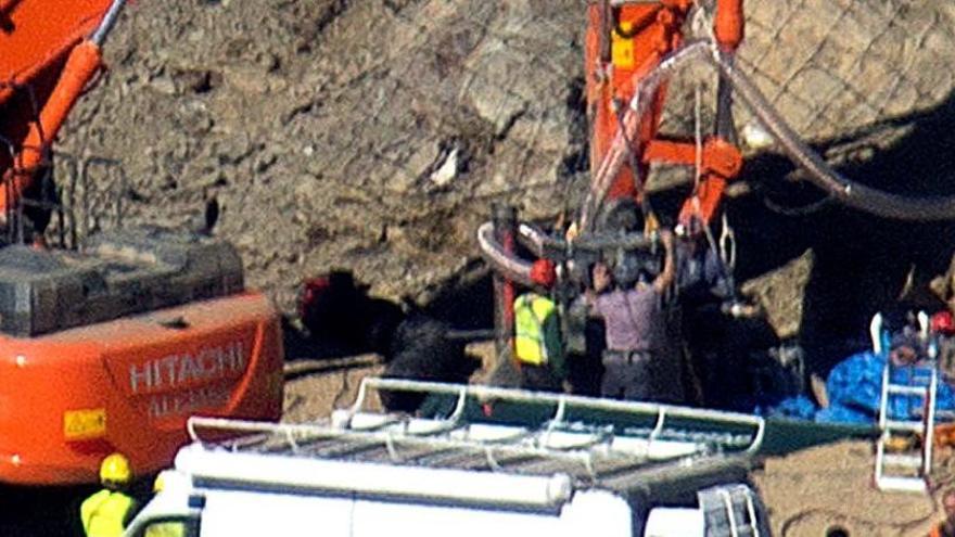 L'autòpsia revela que Julen va morir per la caiguda al pou