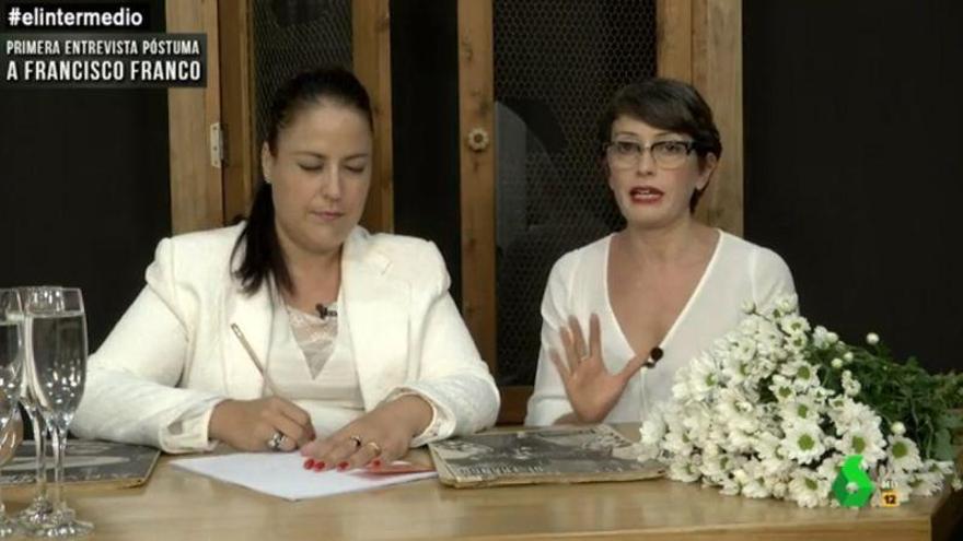 """Thais Villas contacta con el más allá para """"entrevistar"""" a Franco"""