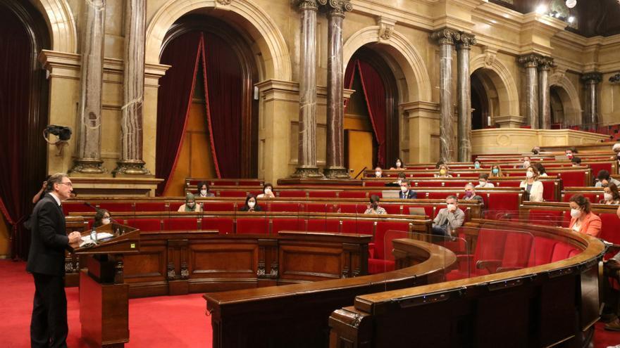 El govern descarta un pressupost urgent per al 2021