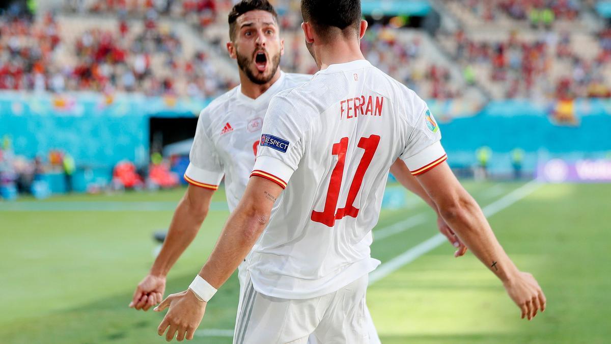 España golea a Eslovaquia y certifica su pase a octavos de final de la Eurocopa.