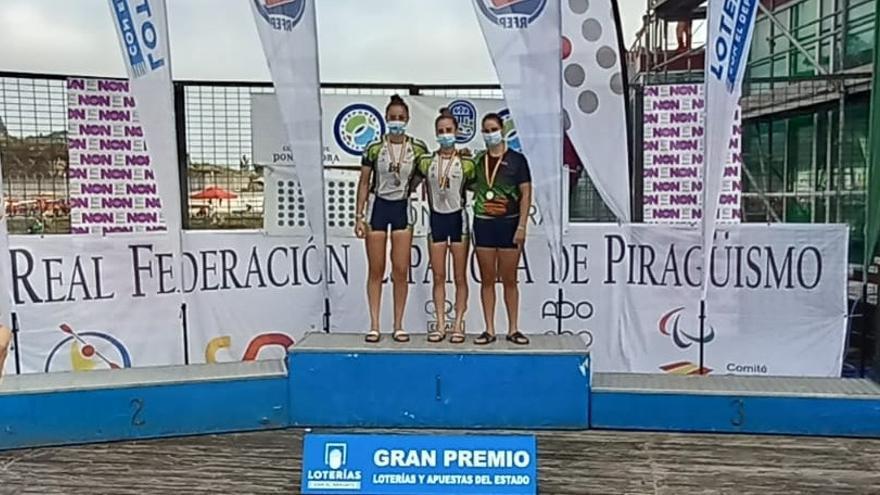 Piragüismo    Eva Barrios, oro en el Campeonato de España de Maratón Corto