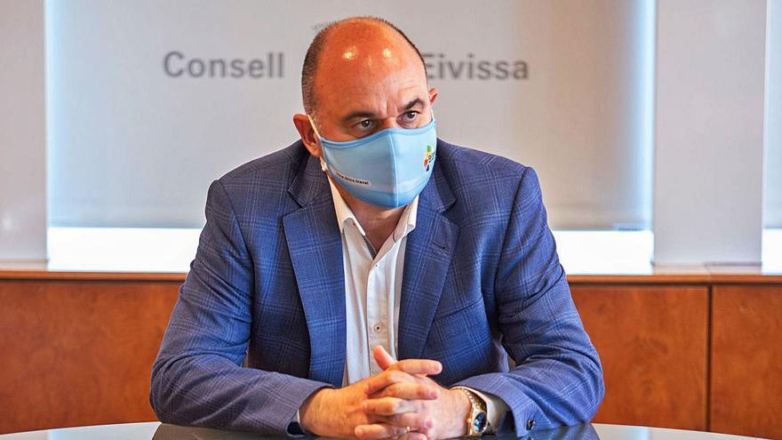 """Vicent Marí, presidente de Ibiza: """"Si aumentan los contagios tal vez no sea el año de abrir las discotecas"""""""