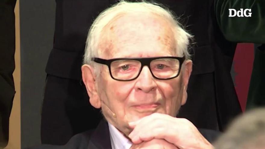 Mor als 98 anys el dissenyador Pierre Cardin, un dels pioners del «prêt-à-porter