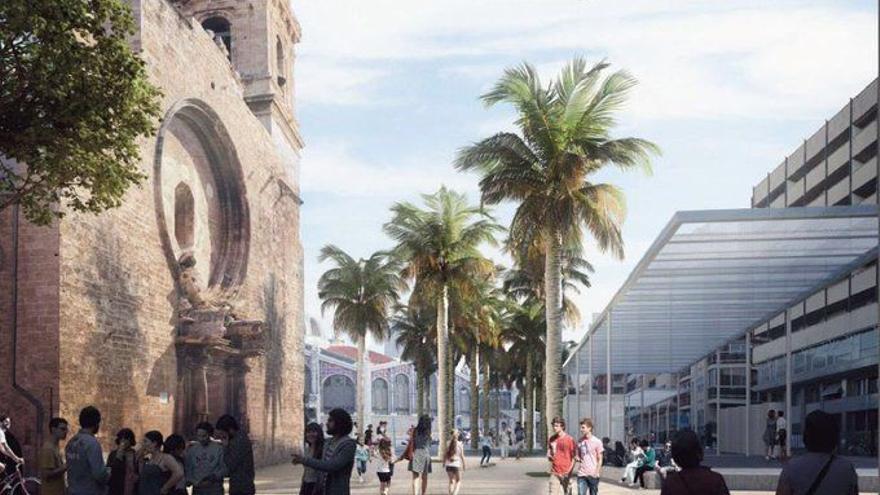 La reurbanización del entorno de Brujas, la Lonja y el Mercado comenzará este jueves