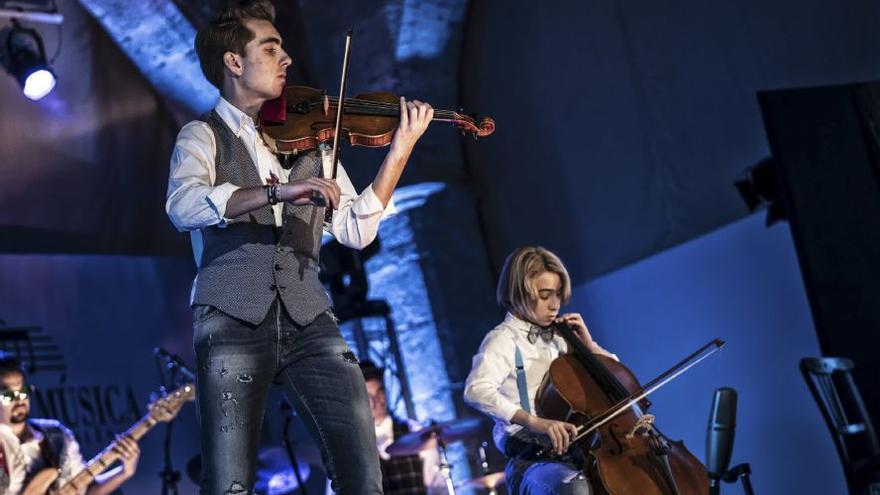 Los valencianos Violincheli Brothers, finalistas de Got Talent