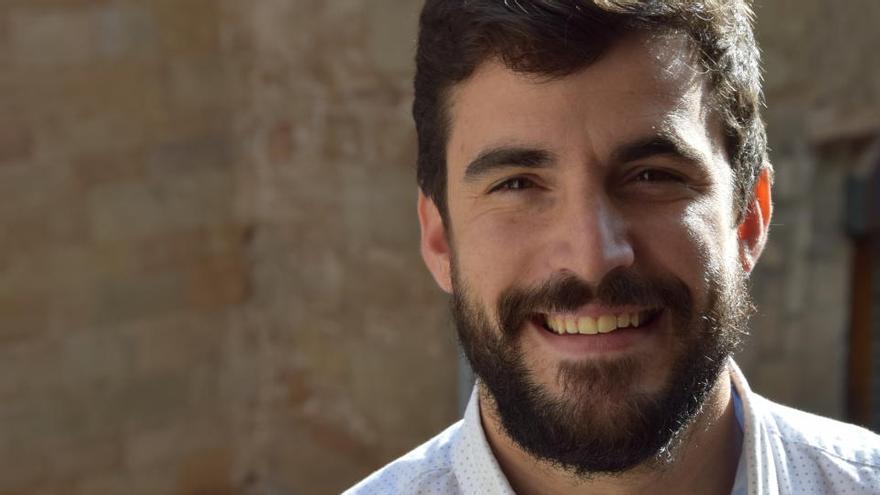 El dirigent berguedà Lluís Vall, president de la nova organització juvenil del PDeCAT
