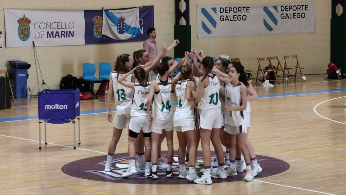 El Unicaja femenino ganó este domingo al Celta.