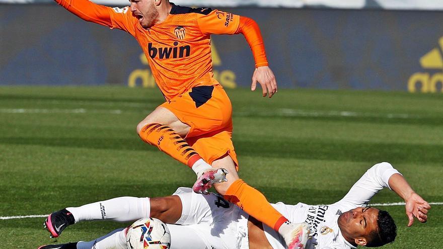 El Real Madrid recupera la autoridad