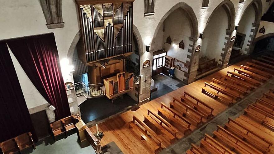 Llívia projecta una reforma integral de l'església i obrir-la al turisme