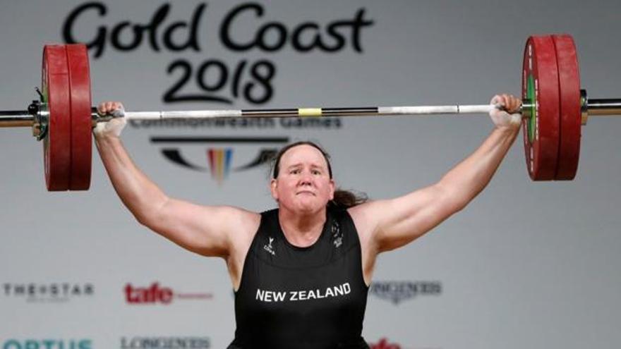 Laurel Hubbard, primera transgénero en unos Juegos Olímpicos