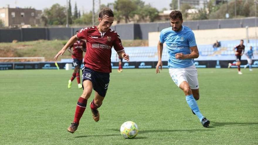"""Luismi Areda: """"El rival realizó un gran partido y ha merecido claramente la victoria"""""""
