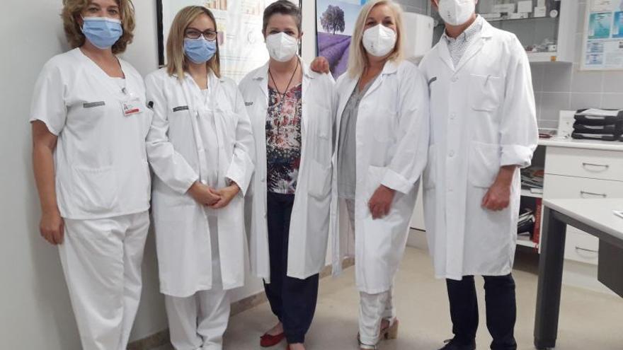 Un hospital comarcal pionero en el tratamiento del asma grave