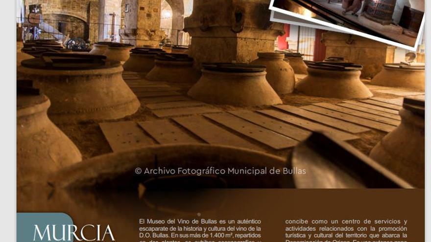 El Museo del Vino de Bullas en la Guía Turismo Industrial de España