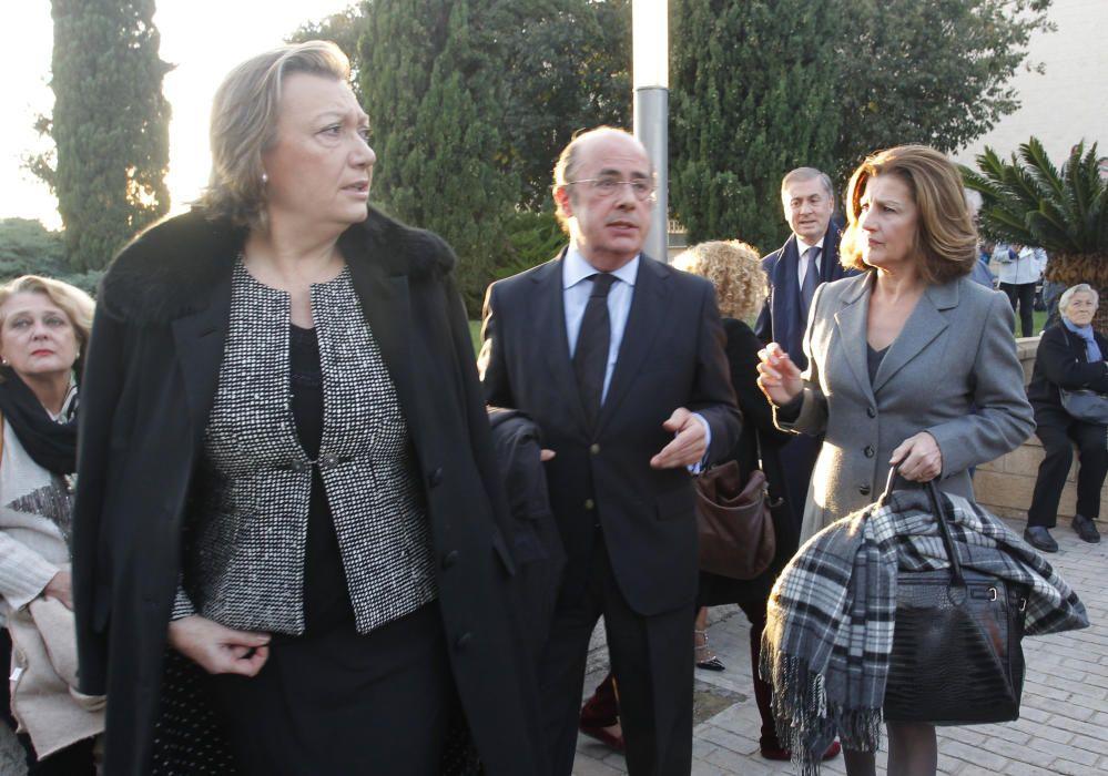 Luisa Fernanda Rudi junto a Ignacio Gil Lázaro
