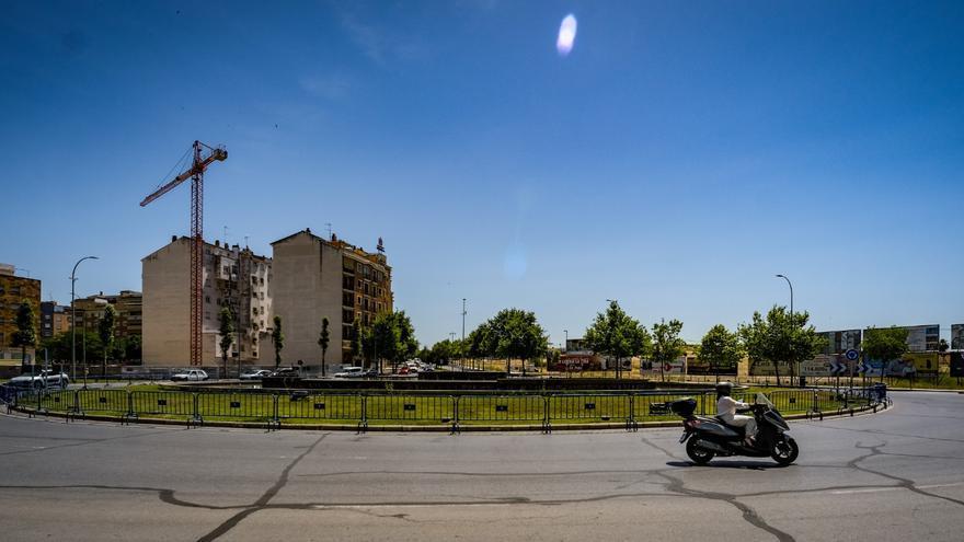 Cerca de 400 efectivos componen el dispositivo especial de seguridad por el partido del Badajoz