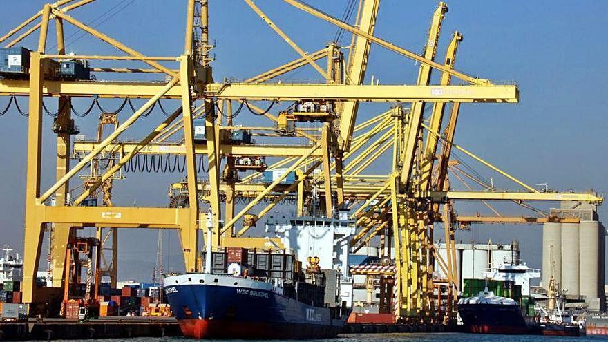 El nombre d'empreses exportadores catalanes cau el 2,3% el 2020 fins a l'octubre
