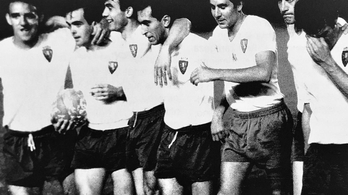 Canario, Marcelino, Violeta, Santos, Villa, Santamaría.