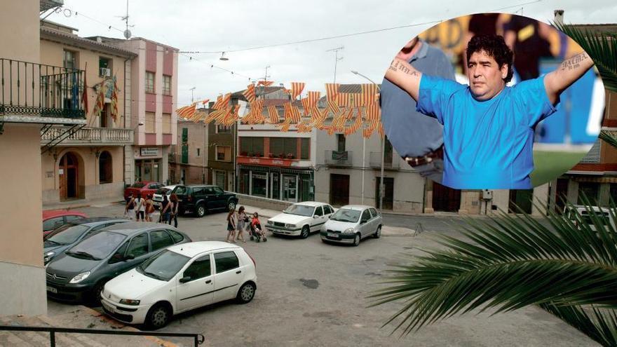 El 'agua milagrosa' de Castellón que pudo curar a Maradona