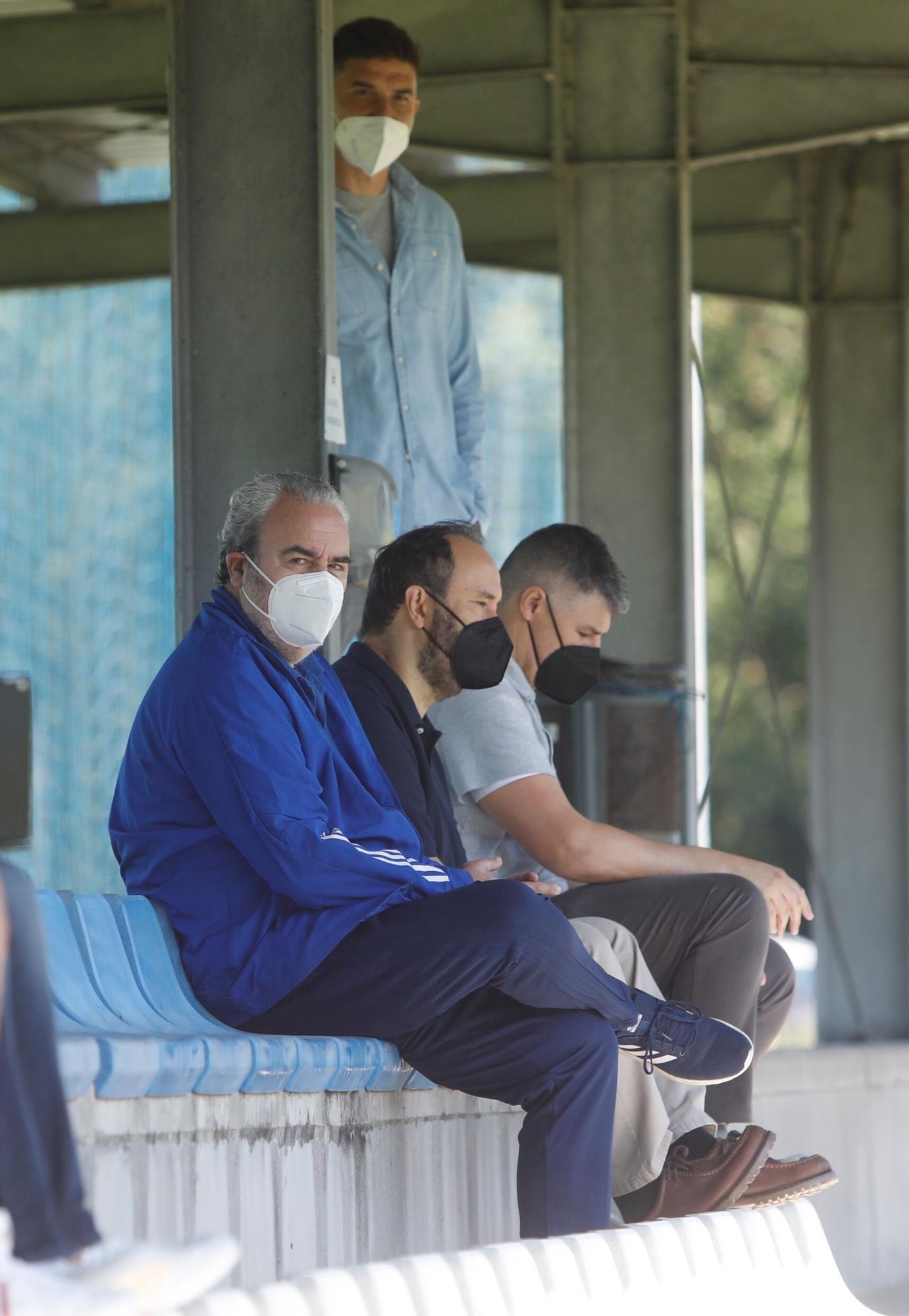 Las imágenes del partidillo del Oviedo y de Rubén Reyes en El Requexón