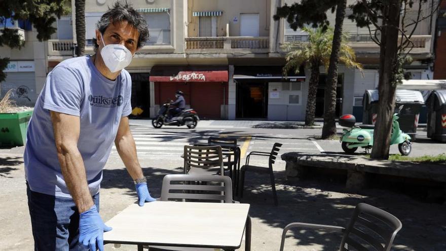 Las terrazas a medio gas no convencen a los restaurantes