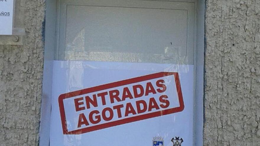 El Lorca cuelga el cartel de 'no hay billetes'
