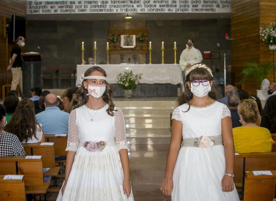 Las celebraciones más tradicionales adaptan sus ceremonias con medidas sanitarias frete al covid.